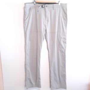 PRANA MENS SZ 40 HIKING PANTS